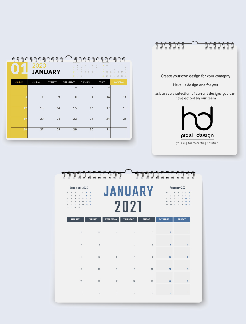 Wall Calendars and planners